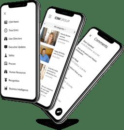 Custom Company App